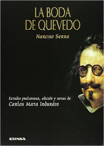 Book La Boda de Quevedo (Anejos de La Perinola)