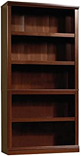 Sauder 412835 Sauder Select 5 Shelf Bookcase, Select Cherry Finish
