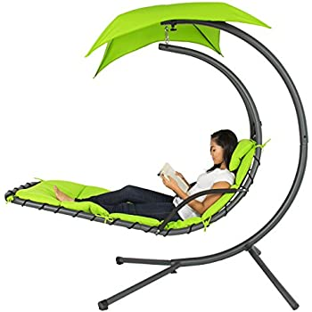 Amazon Com Best Choice Products Outdoor Hanging Curved