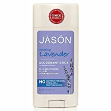 JASON Calming Lavender Deodorant Stick, 2.5 Ounce Sticks (Pack of 3)
