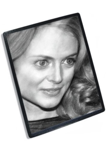 Seasons HEATHER GRAHAM - Original Art Mouse Mat #js010