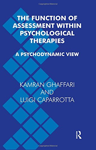 Download The Function of Assessment Within Psychological Therapies: A Psychodynamic View pdf