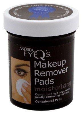 Andrea Gel Eye Makeup Remover - Andrea Eye Q'S 65 Count Regular Brown (2 Pack)