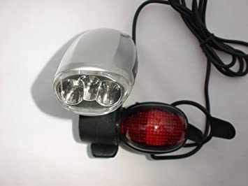 Swallow Dynamo Led Bicycle Lights Garden Outdoors
