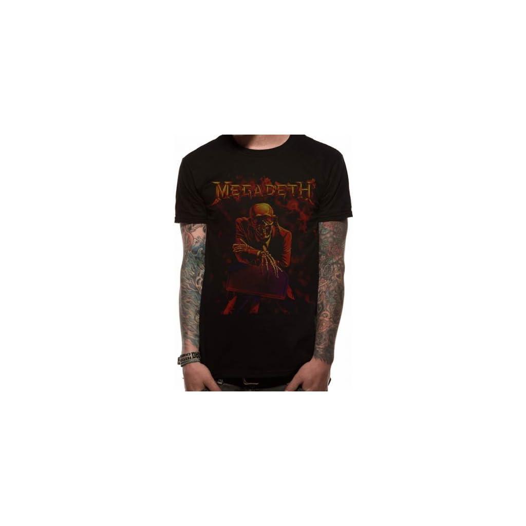 Camiseta de Megadeth con cuello redondo