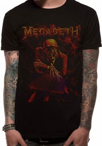 Sells Megadeth Live Homme shirt Peace T Nation Multicolore UUYgOR