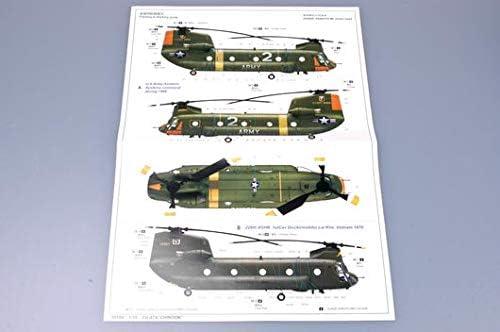 Trumpeter 05104 Modellbausatz CH-47A Chinook