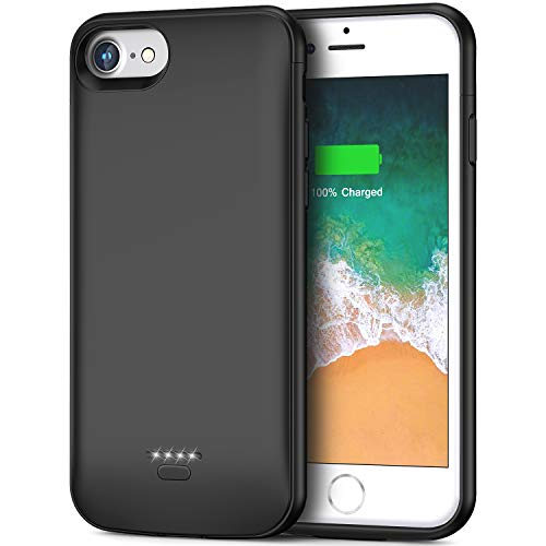 Battery Case for iPhone 6 6s, 4000mAh Portable Protective Charging Case Compatible with iPhone 6 / 6s (4.7 inch) Rechargeable Extended Battery Charger Case