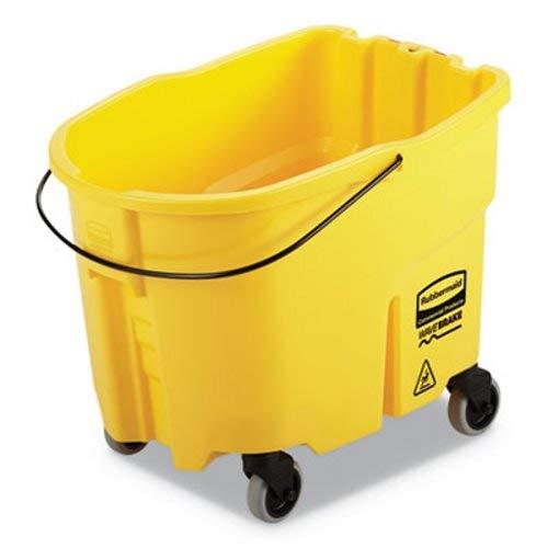 Rubbermaid Commercial RCP 7570-88 YEL WaveBrake Bucket, 8.75 gal, Yellow by Rubbermaid Commercial (Image #1)