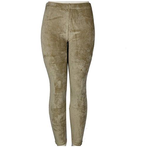 Velour Leggings Pants - 1