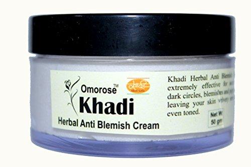 Khadi Herbal Anti Blemish Cream 50 gm Skin Polisher