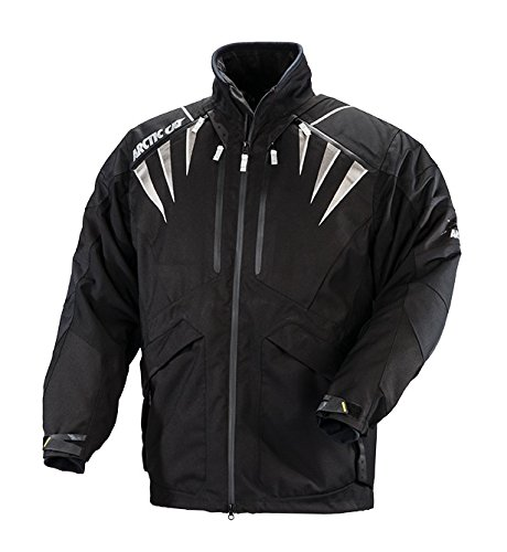 Arctic Cat Mens Jacket Black 3X-Large Artic Cat 5260-859