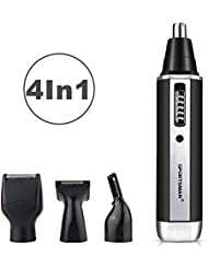 Rechargeable Nose Hair Trimmer 4 In 1 Ear hair Trimmer...