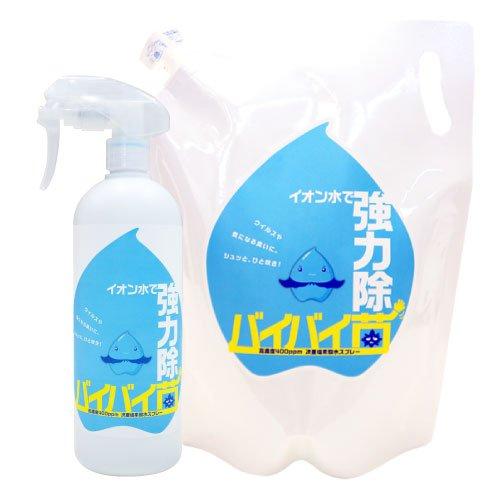 次亜塩素酸水でいろいろなウイルス除菌対策ができそうです。