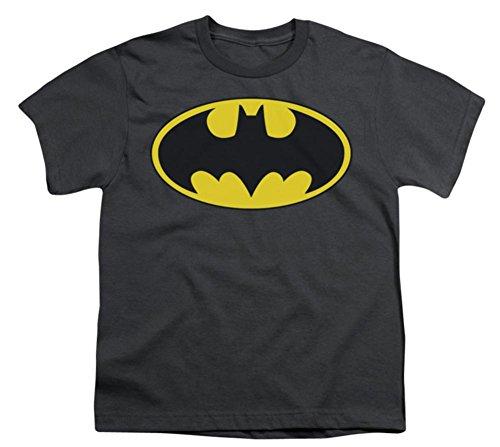 Youth: Batman-Classic Bat Logo Kids T-Shirt Size YS