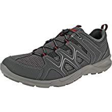 ECCO TERRACRUISELTM, Zapatos de Low Rise Senderismo para Hombre, Gris (Dark Shadow/Dark Shadow 56586), 44 EU