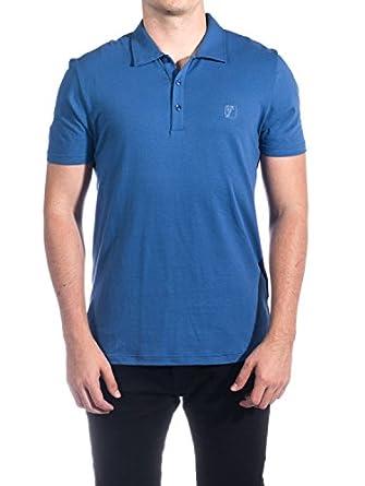 Versace collection men 39 s cotton medusa logo polo shirt for Amazon logo polo shirts