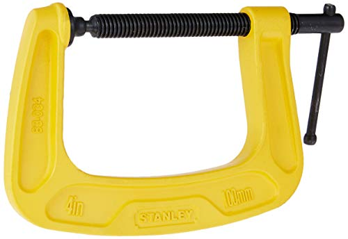 STANLEY 0-83-034 Max Steel C-Clamp-100mm Price & Reviews