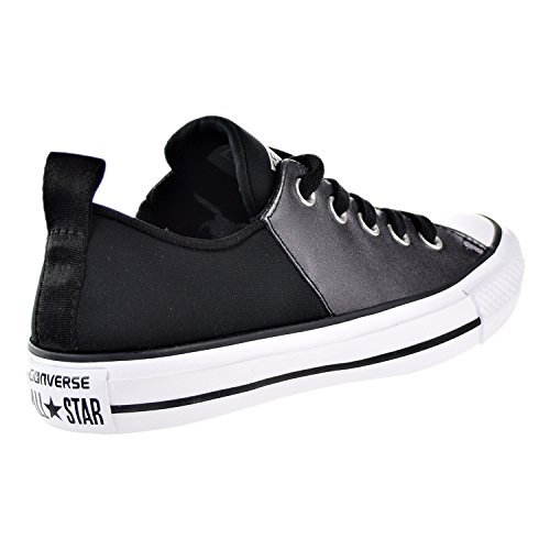 Converse Womens Chuck Taylor All Star Sneaker Abbey Ox Fashion Nero / Bianco