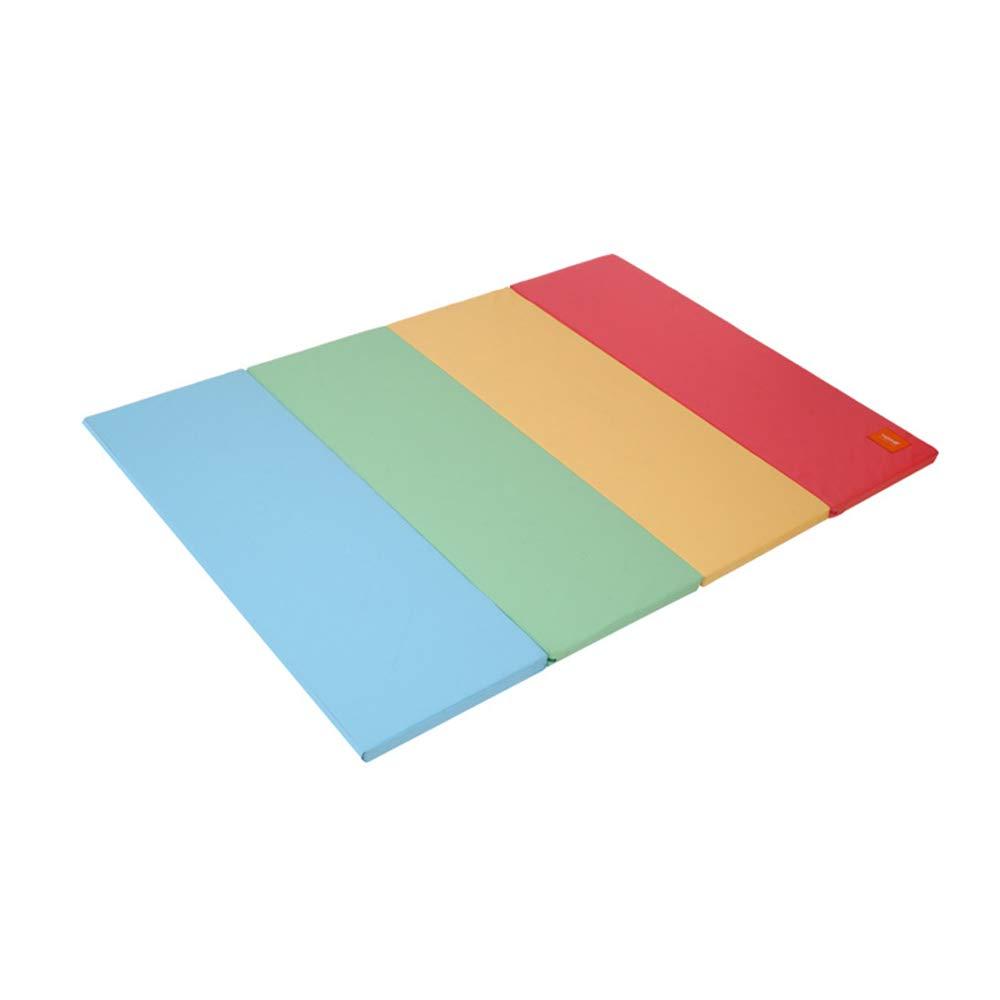 household products Wasserdichte, Faltbare Farbklettermatte für Kinder, umweltfreundliche XPE-Spielmatte, 4 cm Verdickung, geeignet für eine Vielzahl von Szenen, z. B. Schlafzimmer, Wohnzimmer 4 Macarons