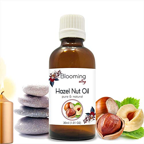 Hazelnut Oil 100% Natural Pure Undiluted Uncut Essential Oil 30 ML By Blooming Alley ()