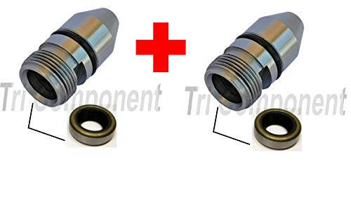 2-Pack TH350/TH350C Housing Bullet Speedometer Speedo Sleeve Adapter TH-350/250