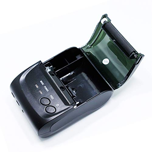 Milestone Receipt Thermal POS Printer,Portable Bluetooth Bill Printer 2 inch Compatible with Android/iOS/PC Computer