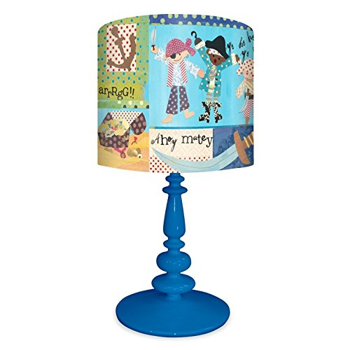 Oopsy Daisy NB14932  It's A Pirate's Life for Me On Resin Blue Base Table (Pirate Ideas)