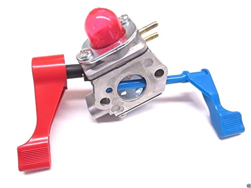KIPA Carburetor With Fuel line Spark plug Gasket kit For Poulan FL1500 FL1500LE Weedeater Sears Craftsman Leaf Blower Replace ZAMA C1U-W12B C1U-W12A Replace Husqvarna OEM # 530071629