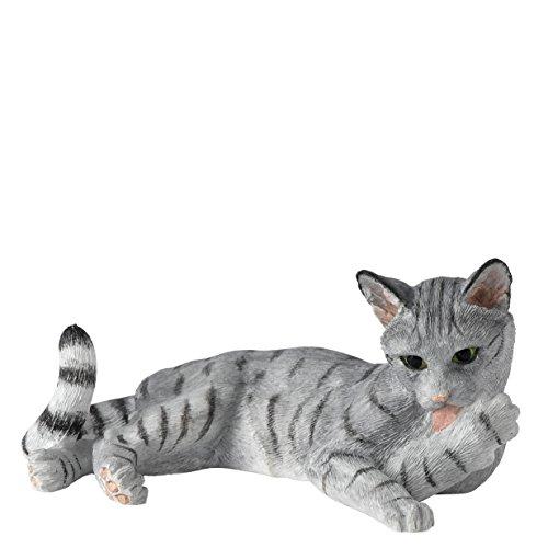 Enesco A24812 BFA Katzenfigur liegend Pfote leckend