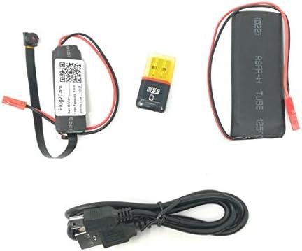 Cámara espía HD Wifi P2P: microcámara oculta, de detección