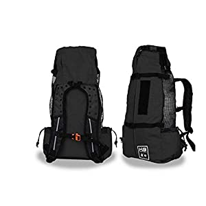 K9 Sport Sack | Dog Carrier Backpack for Small and Medium Pets | Front Facing Adjustable Dog Backpack Carrier | Fully Ventilated | Veterinarian Approved 45