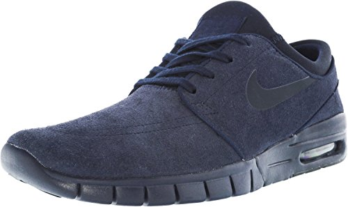 buy online 8ed78 ce795 Nike Men s Stefan Janoski Max L Obsidian Dark Ankle-High Fashion Sneaker -  9M