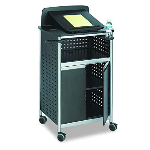 Safco Products 8922BL Scoot Multi-Purpose Lectern, Black from Safco Products