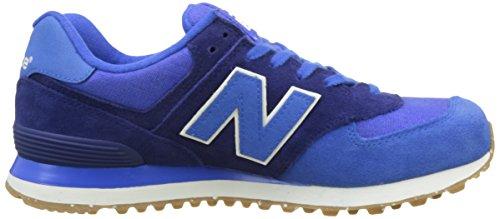 Blue Ginnastica Blu New Vintage da Scarpe Uomo Basse Balance 574 q88Xxwzv