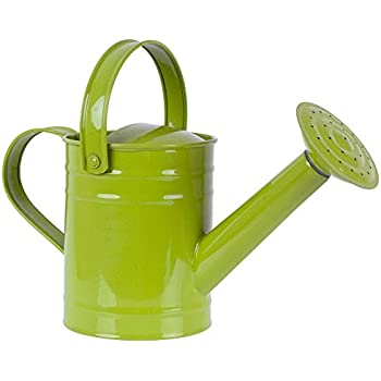 Twigz kids gardening watering can steel for Pretty garden tools set