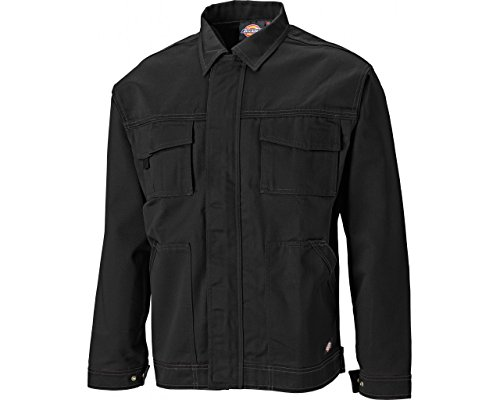 - Dickies Pro Men's Industry 300 Two Tone Work Jacket, Black, Medium