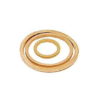 Parker 0138 17 00-pk10 Washer Pack of 10 BSPP Copper G3//8