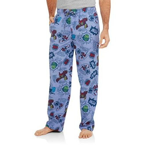 Marvel Superheroes Comic Book Men's Sleep Pants Size XL (40-42)