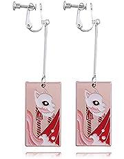 Demon Slayer Sabito oorbellen anime cosplay metalen oorbellen hanger oorbellen Halloween accessoires