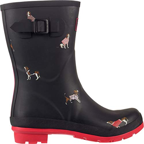 Gomma Dogs Donna Welly Blkjdog Nero Di Stivali Jumper Molly Joules black aXqwxzIz