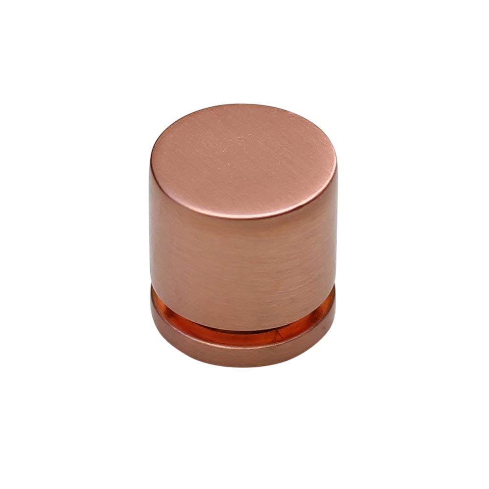 "Hamilton Bowes - 1"" - Round Cabinet Knob - 380-SCOP (Satin Copper 10 Pack)"