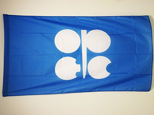 ORGANIZATION OF THE PETROLEUM EXPORTING COUNTRIES FLAG 3' x 5' for a pole - OPEC FLAGS 90 x 150 cm - BANNER 3x5 ft with hole - AZ FLAG