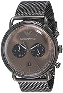 Emporio Armani Men's AR11141 Chronograph Quartz Grey Watch