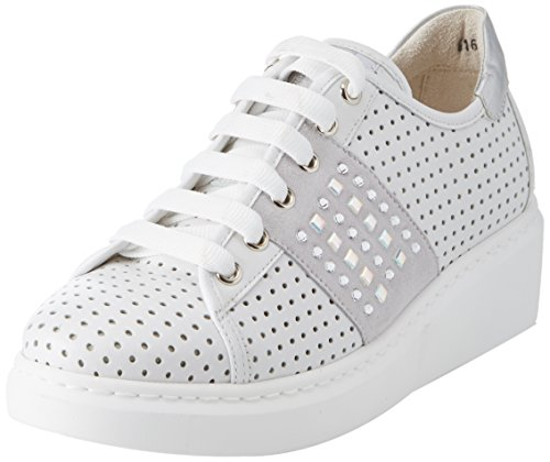 Walk Donna Blanc Techno Femme Bianco MELLUSO Bianco Baskets FvwqR