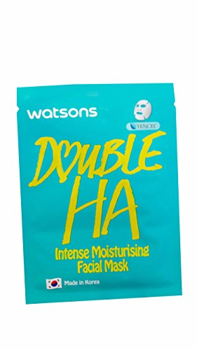 2 Mask Sheets of Watsons Intense Moisturising Facial Mask with Double HA. Which help replenish moisture while soothing fine lines. (21 ml essence/ - Goggles Ski India