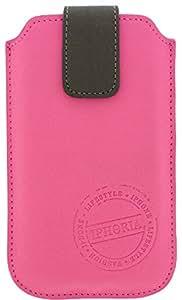 Peter Jäckel IPHORIA L Sleeve case Rosa - fundas para teléfonos móviles (67 mm, 129 mm, 16 mm)