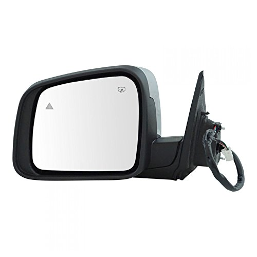 Mirror Power Heated Signal Memory Blind Spot Chrome Driver Left LH for Durango ()