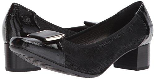 Spring Wedge Women's Black Pump Step Eloid xnqWUw0q7T