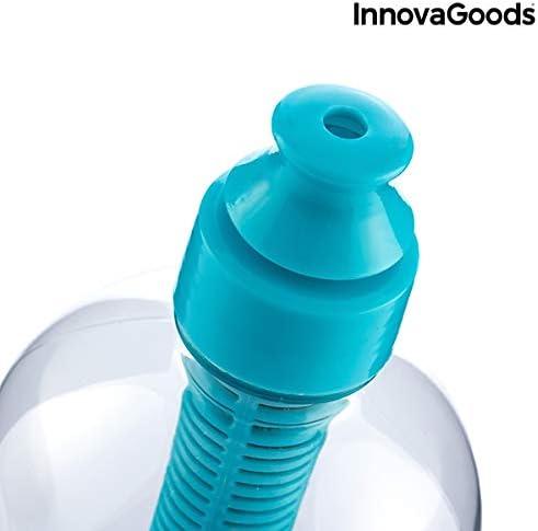 InnovaGoods IG116752 Botella con Filtro de Carbono, Unisex Adulto ...
